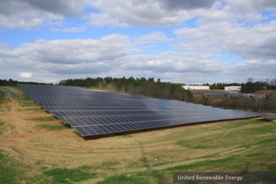 Eastanollee GA United Renewable Energy