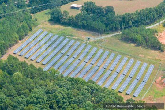 Eastanollee GA United Renewable Energy