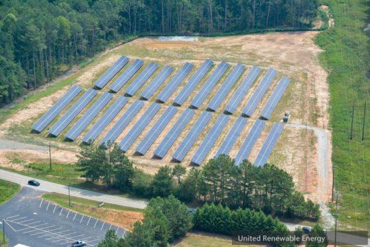 Toccoa GA United Renewable Energy