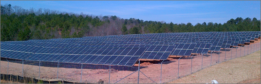 Eastanollee Solar Panels Up and Running for Ga. Power