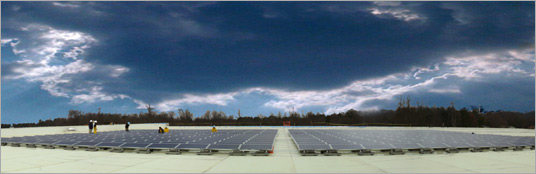 United Renewable Energy | IVC Solar Install