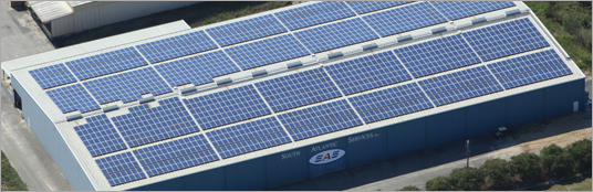 South Atlantic Services, Inc. Commissions 500 kW Solar Installation