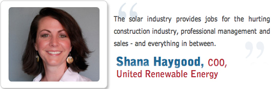Our very own Shana Haygood is featured in Solar Energy Industries Association spot: Solar Works for America.