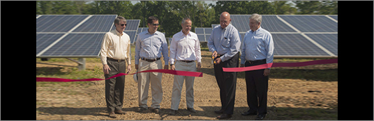 Third Phase of Dalton Solar Plant Now Online