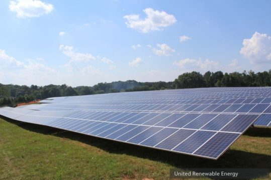 Mansfield GA United Renewable Energy