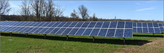 United Renewable Energy LLC Completes First Community Solar Project with National Grid in New York