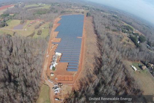 Yadkinville NC United Renewable Energy