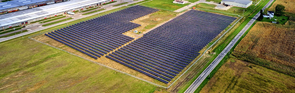 Residents of Shelby, OH Enjoying Benefits of Utility-Scale Solar Array