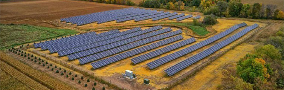United Renewable Energy and New Energy Equity Complete 4.3 MW of Community Solar Gardens in Minnesota